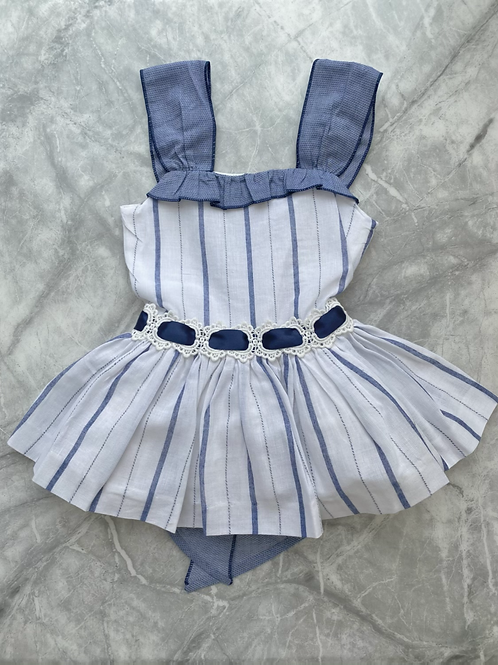 DBB Navy Stripe Dress