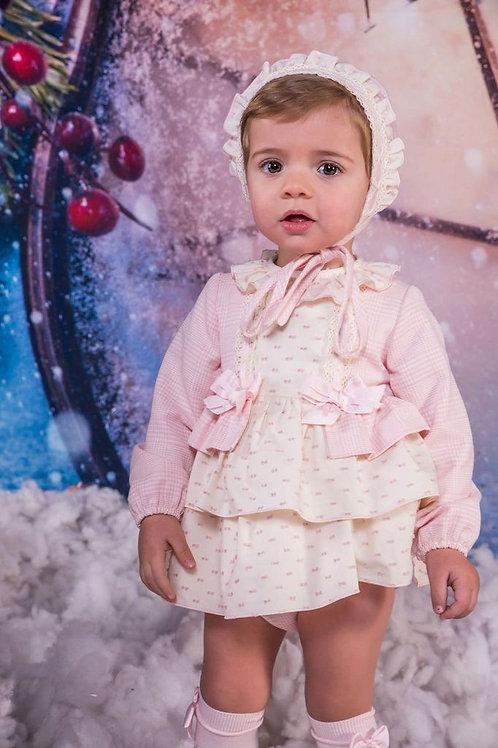 Babine 3piece Pink Dress