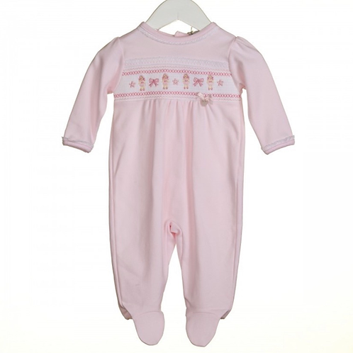 Pink Dolly Sleepsuit