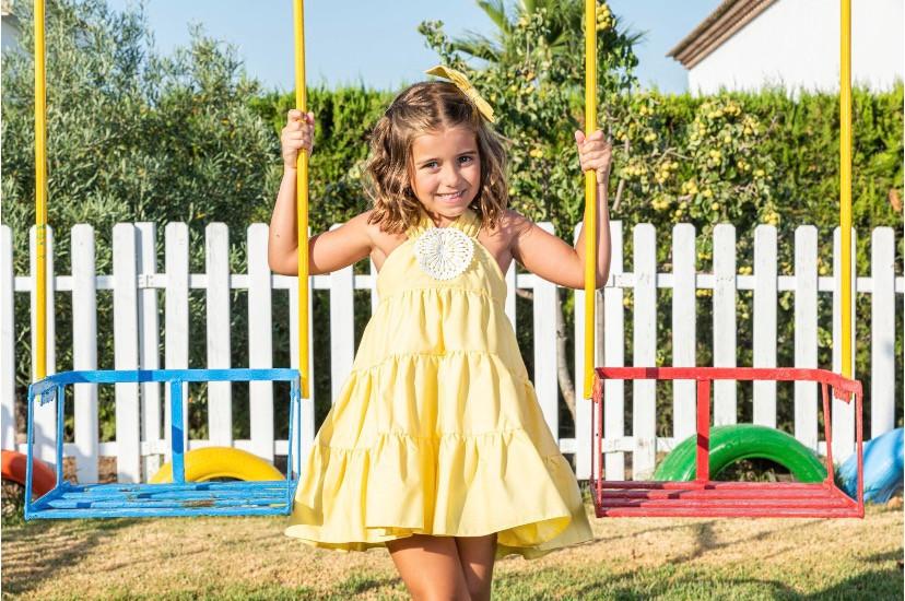 Babine Yellow Sundress