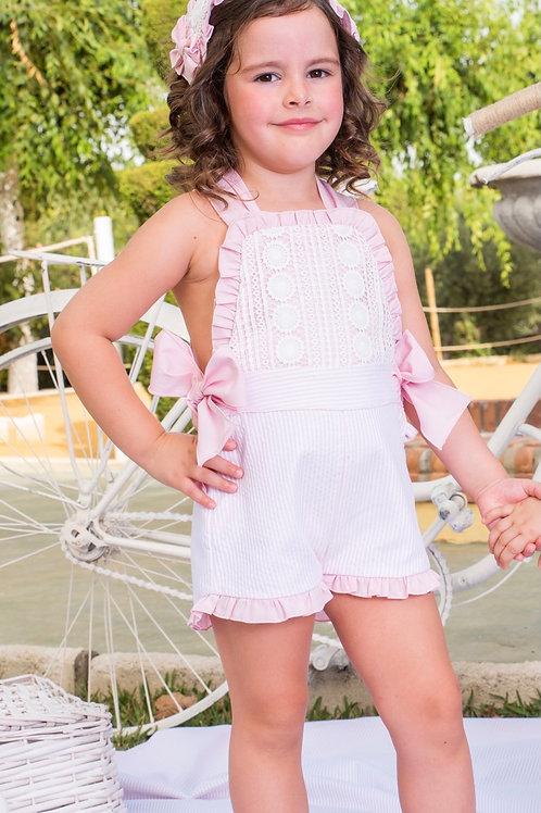 Babine Pink Stripe Dungaree