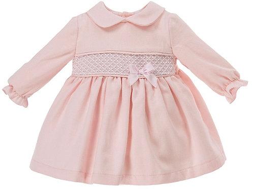 Alber Pink Smock Dress