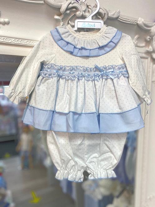 Babine Blue & White Star Two Piece
