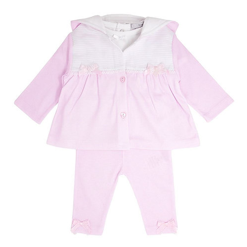 Blues Baby Pink 3p Tracksuit