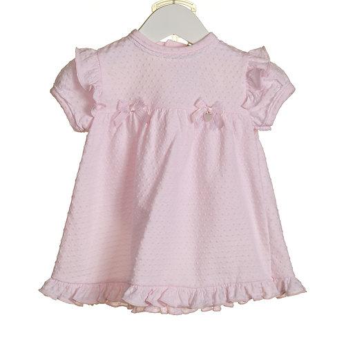 Pink Dress and Knicker Set