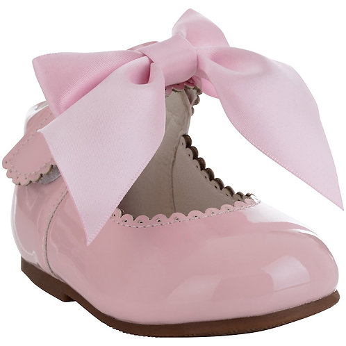 Tia London Pink Bow Shoes