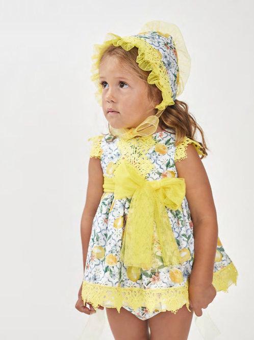 Ricittos Lemon Two Piece Dress