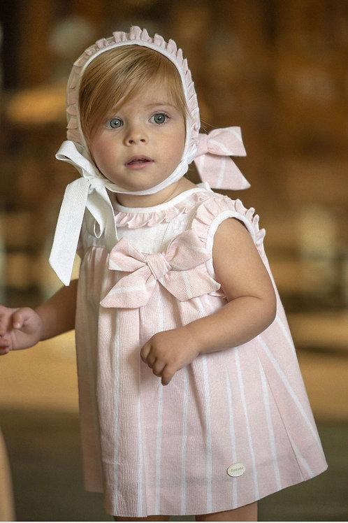 Cocote 'Ella' Pink Stripe Three Piece Dress