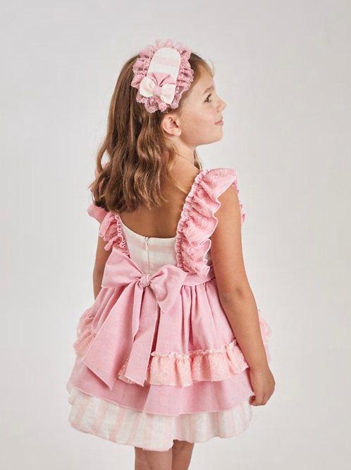 Ricittos Pink Stripe Dress