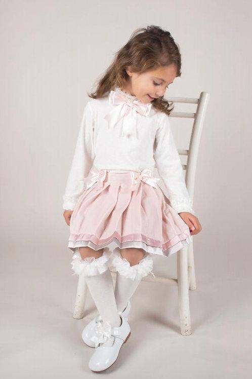 Caramelo Velour Skirt Set