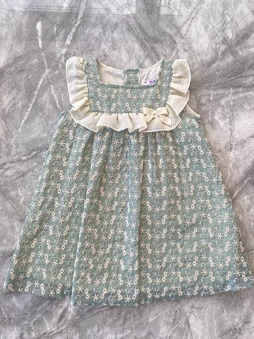 Alber Baby Girl Sage Dress