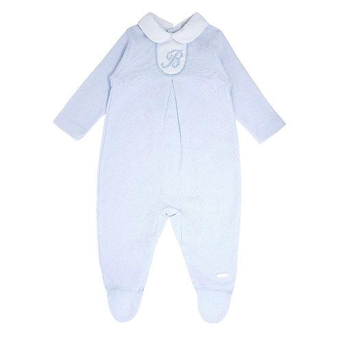 Blues Baby Classic Blue Sleepsuit
