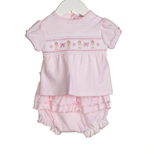 Pink Dolly Short Set
