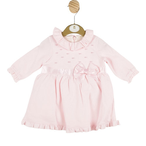 Mintini Pink Bow Front Dress