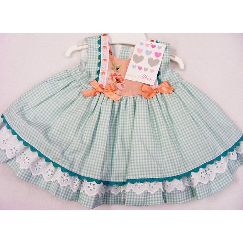 Alber Gingham Spanish Dress