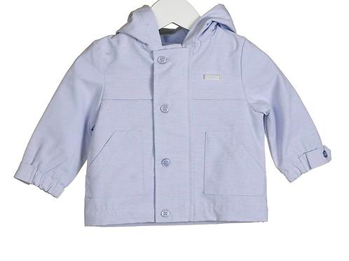Blue Stripe Hooded Jacket