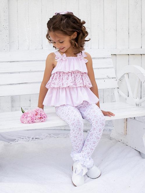 Caramelo Flower Legging Set