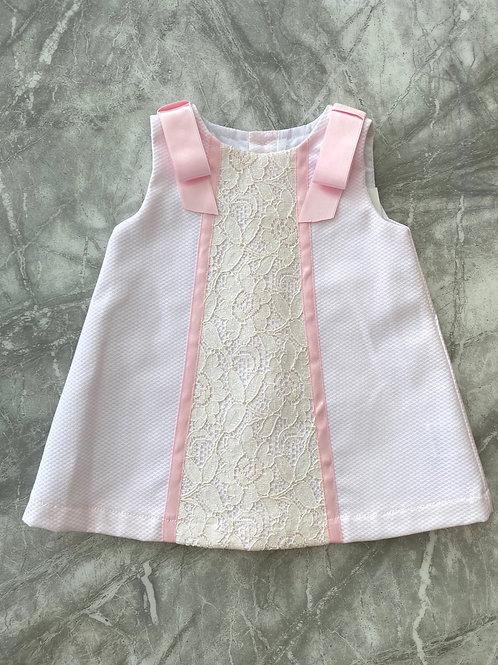 Alber Ribbon Shoulder Dress