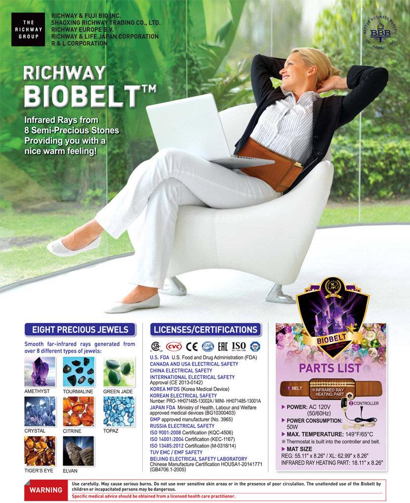 BioBelt - Amethyst BioMat International