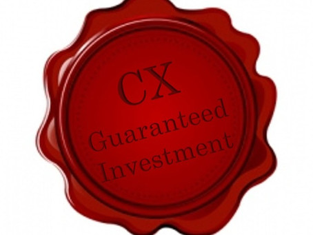 Why Manage the Customer Experience? Because it's a Guaranteed Investment!