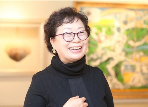 <인터뷰> '열린 미술' 허숙 케이아트 국제교류협회 이사장
