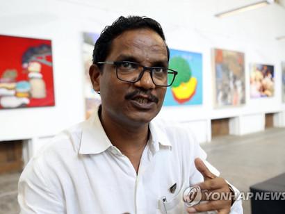 인도 뭄바이 JJ예술학교 학장