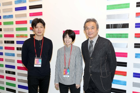 '한국 생동감 넘쳐요' 부산국제아트페어 참가 일본 작가
