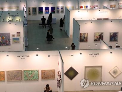 미술장터 부산국제아트페어 개막…3천점 전시·판매
