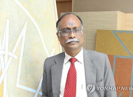 [인터뷰] 한국 첫 체류 작품활동 인도 미술 거장 름 팔라니압판