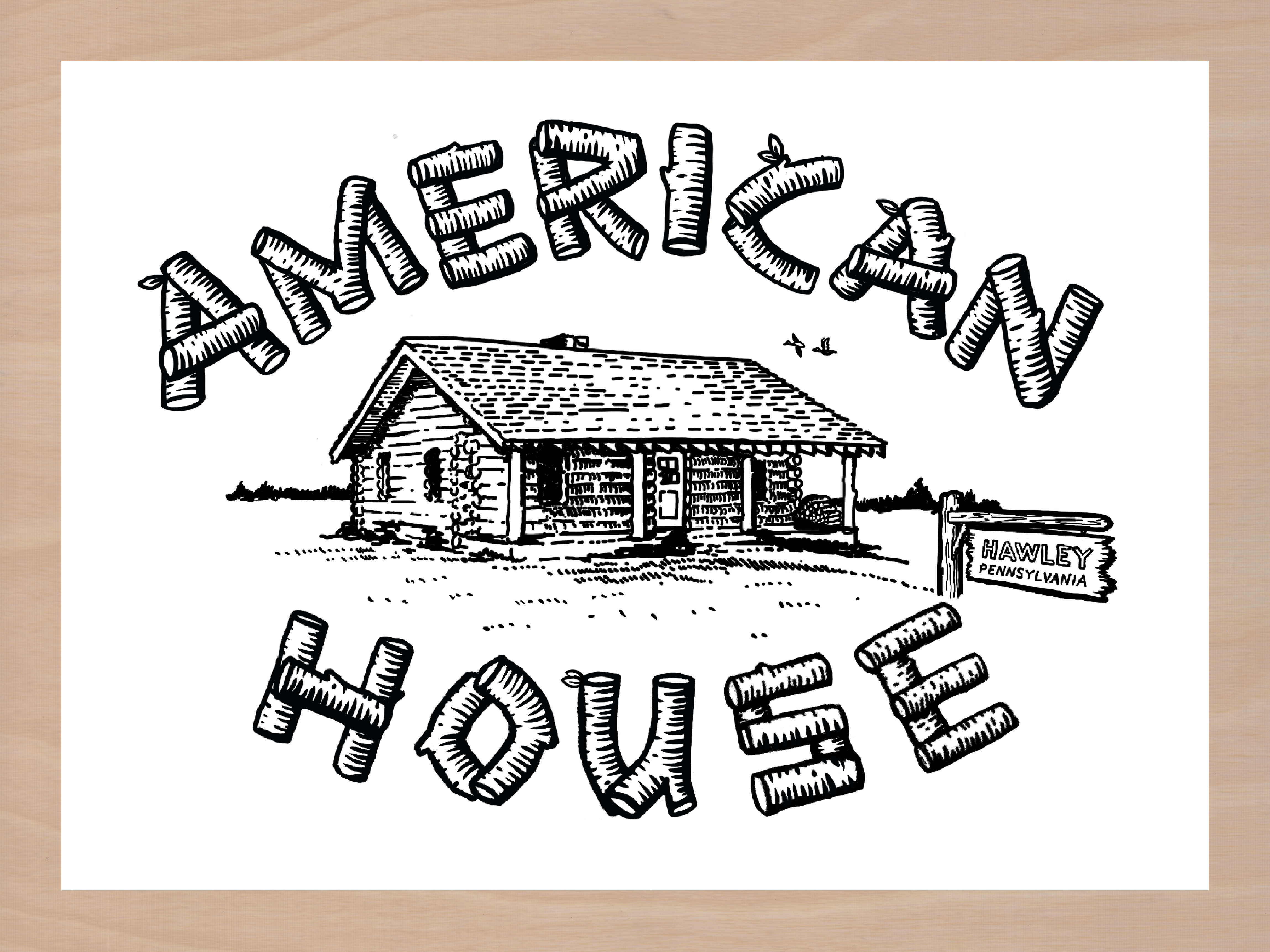 American House Tattoo
