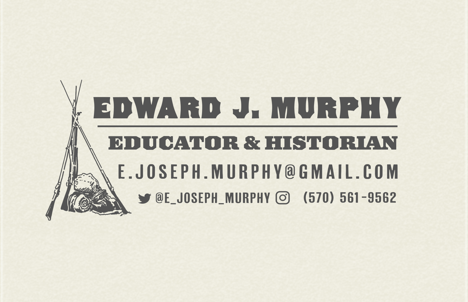 E.J.Murphy business card