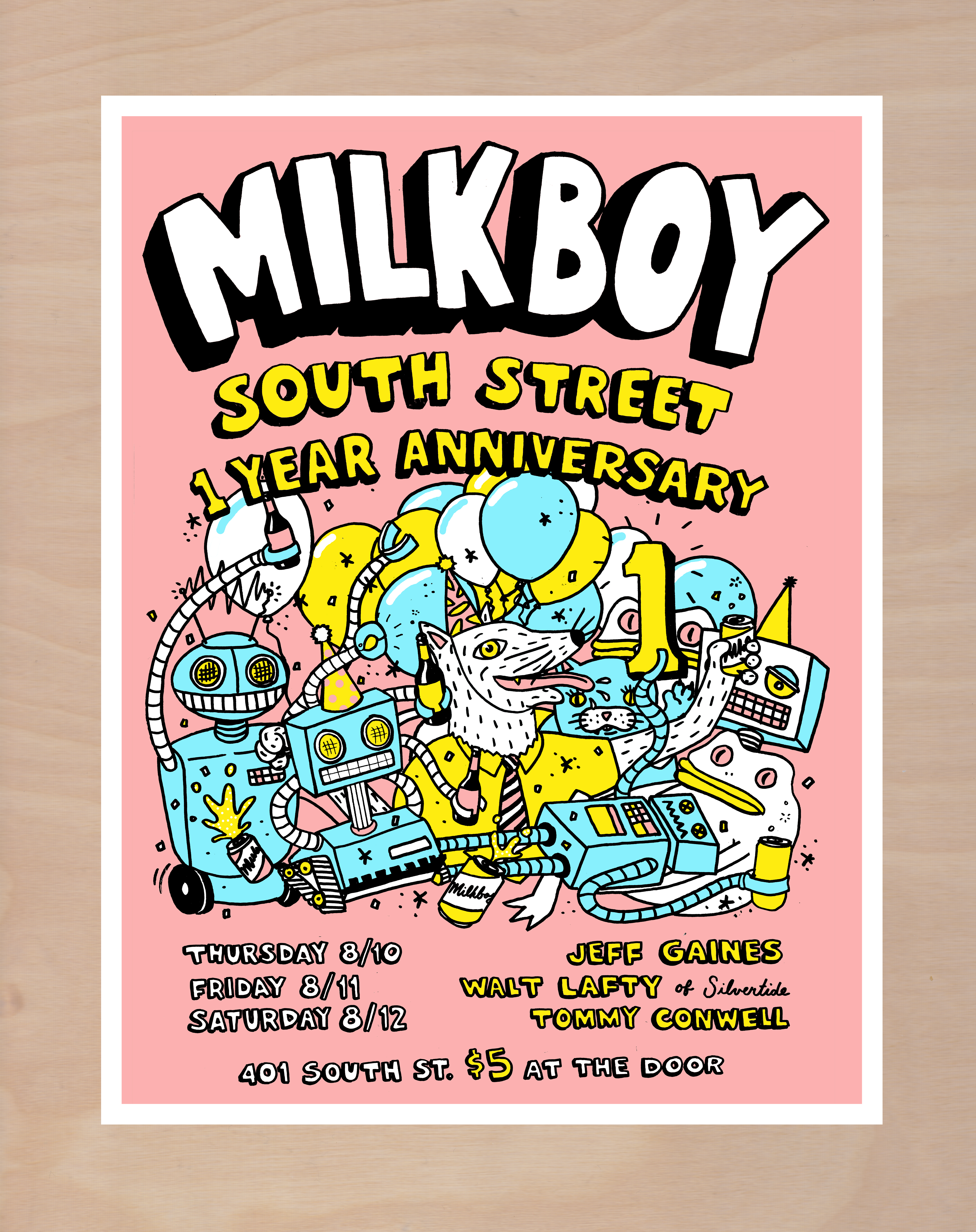 Milkboy South 1st Anniversary