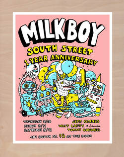 Milkboy South 1st Anniversary