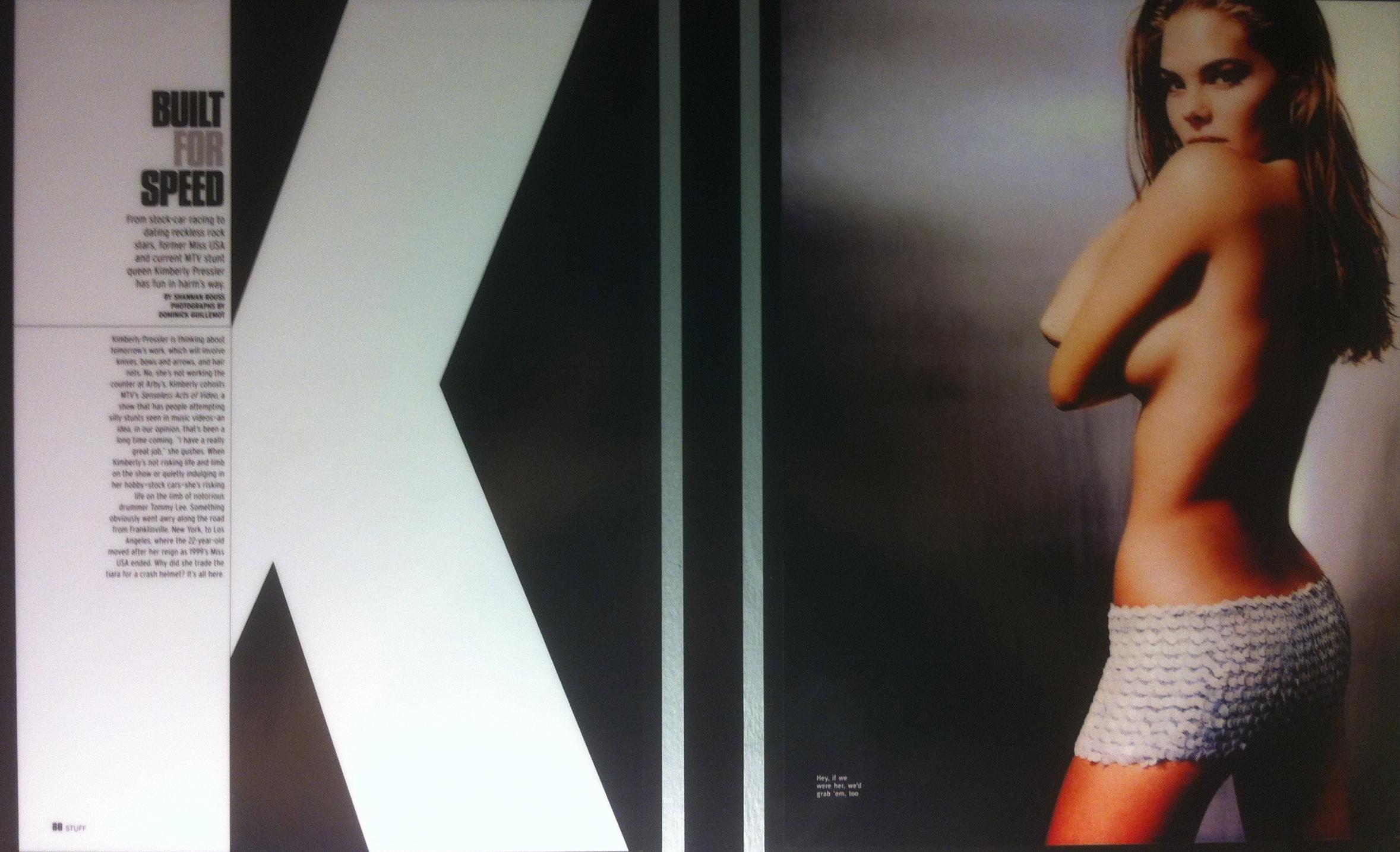 STUFF Magazine Page 1 & 2