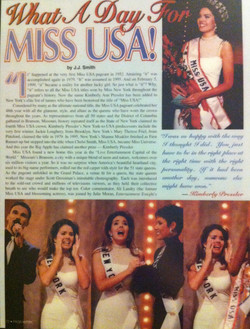 Pageantry Magazine, Page 1