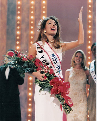Signed 8x10 Crowning Moment (Miss USA)