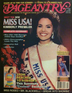 Pageantry Magazine, Cover