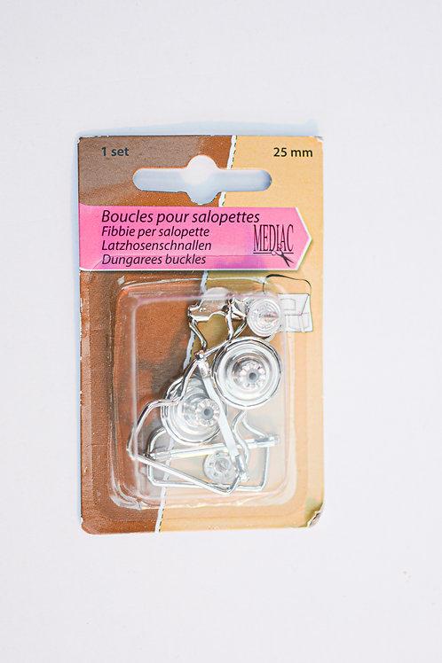 Salopette clips