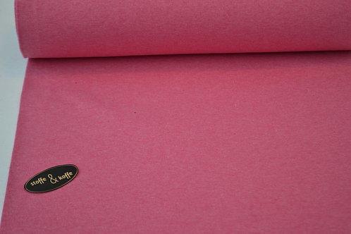Fijne boordstof roze melange