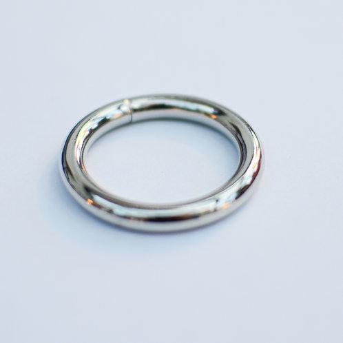 O-ring zilver dik