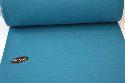 Fijne boordstof korenbloemblauw