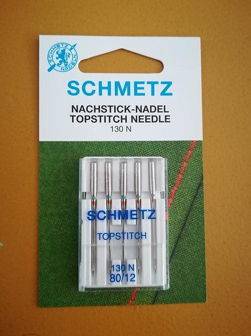 Top stitch machinenaalden Schmetz - top stitch maat 80