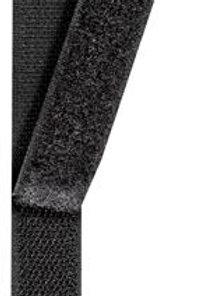 Klittenband lus naaibaar 20mm zwart