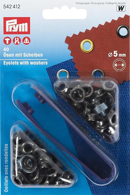 Ringen met schijven 5mm
