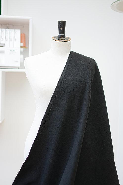 Polyester uni zwart