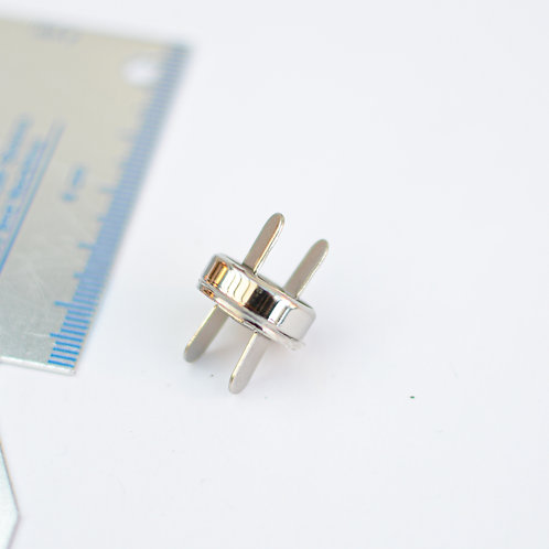 Magneetsluiting zilver 15mm