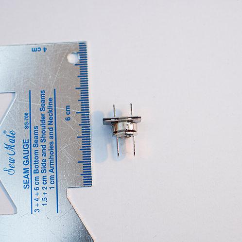 Magneetsluiting zilver