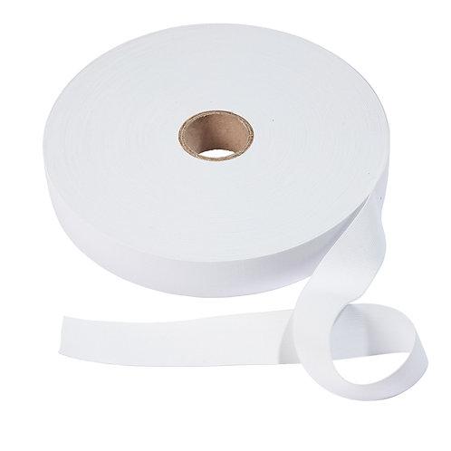 Band-elastiek wit zacht 40mm