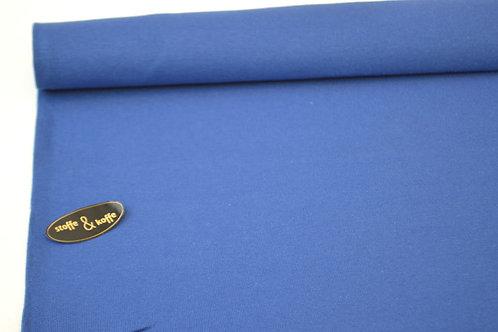 Fijne boordstof koningsblauw