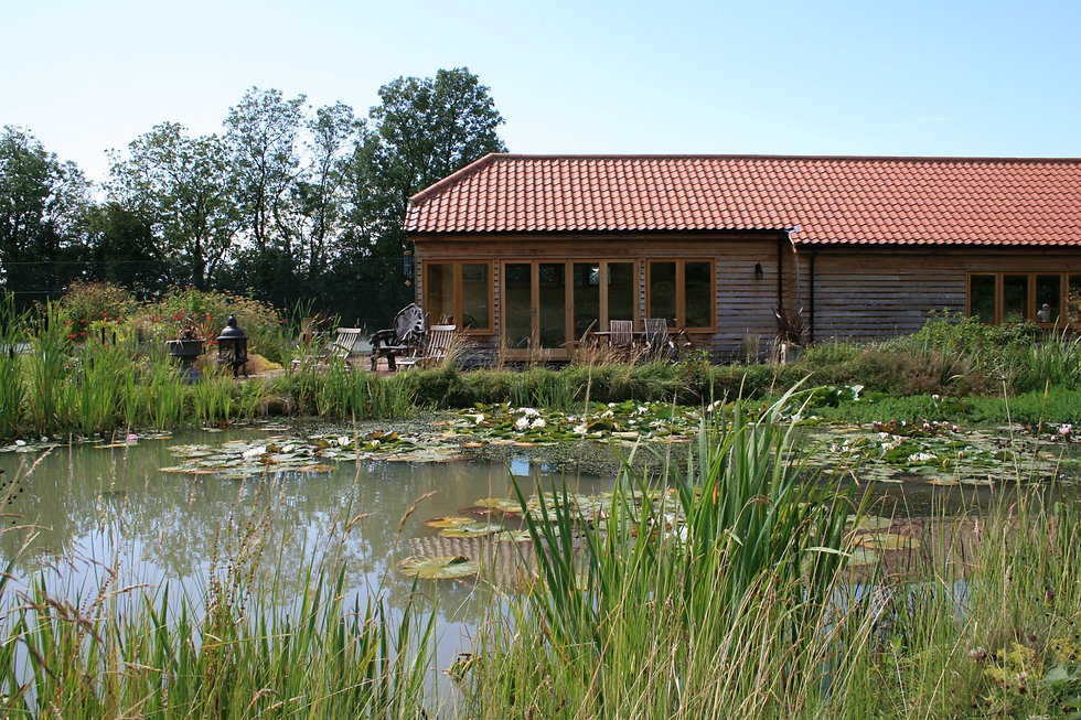 pond garden design grantham tythorne garden design